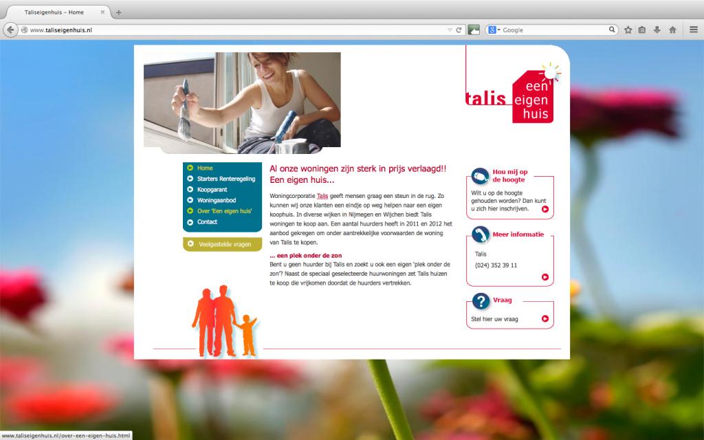 Talis Eigen Huis publiciteitscampagne